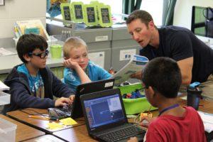 Teacher Explain Coding to Kids