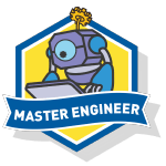 RoboThink STEM Master Engineer Course Badge