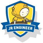 RoboThink STEM Junior Engineer Course Badge