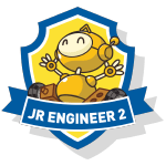 RoboThink STEM Junior Engineer 2 Course Badge