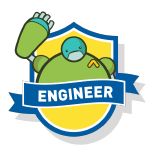 RoboThink STEM Engineer Course Badge