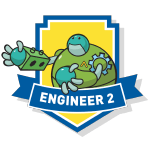 RoboThink STEM Engineer 2 Course Badge