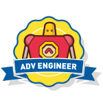RoboThink STEM Advanced Engineer Course Badge