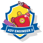 RoboThink STEM Advanced Engineer 2 Course Badge