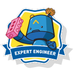 RoboThink STEM Expert Engineer Course Badge