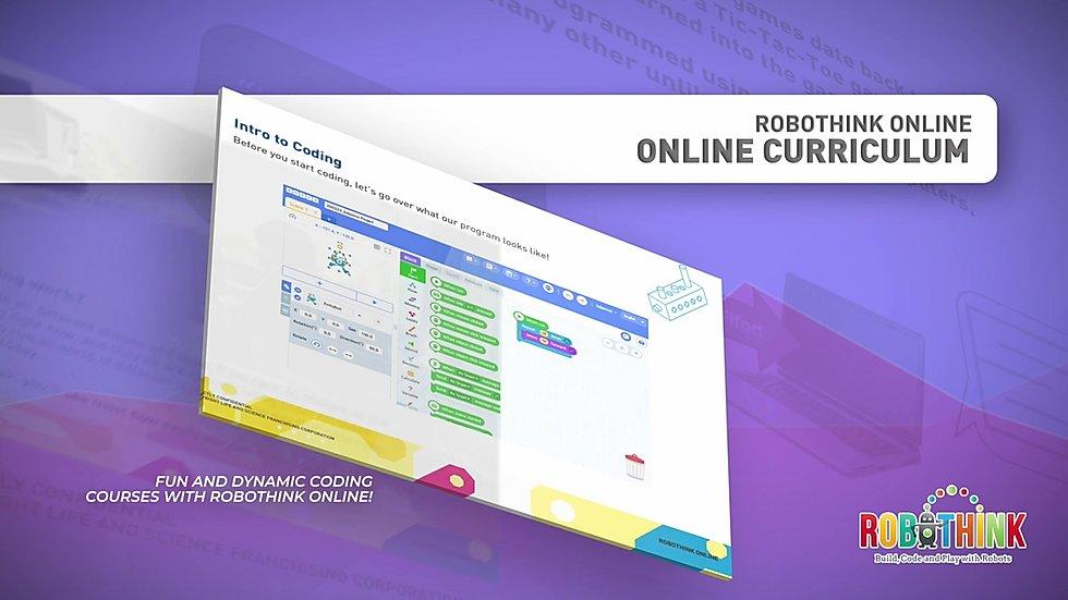Online STEM Coding Program