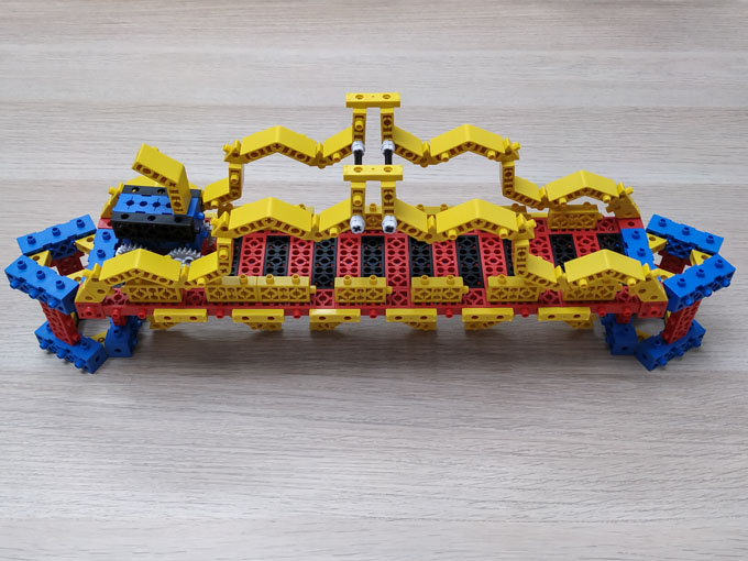 bridge made with RoboThink building cells