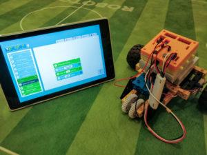 home class coding robot
