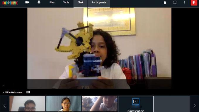 home robotics class screenshot