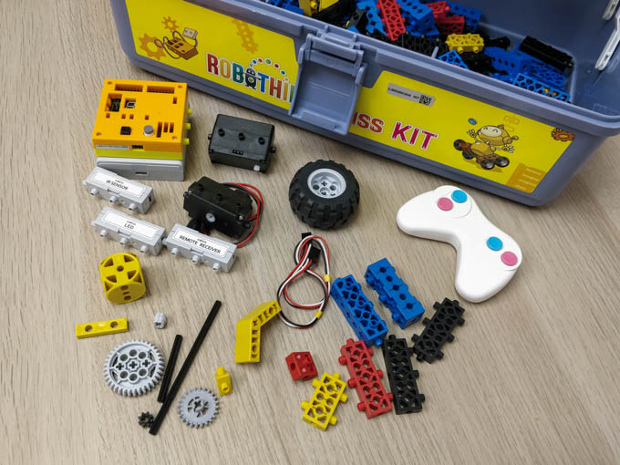 robothink robotics kit sample
