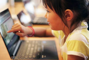student coding class